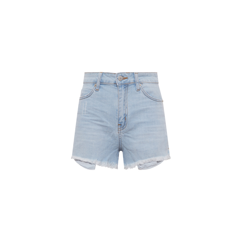 SHORTS IN DENIM CHIARO