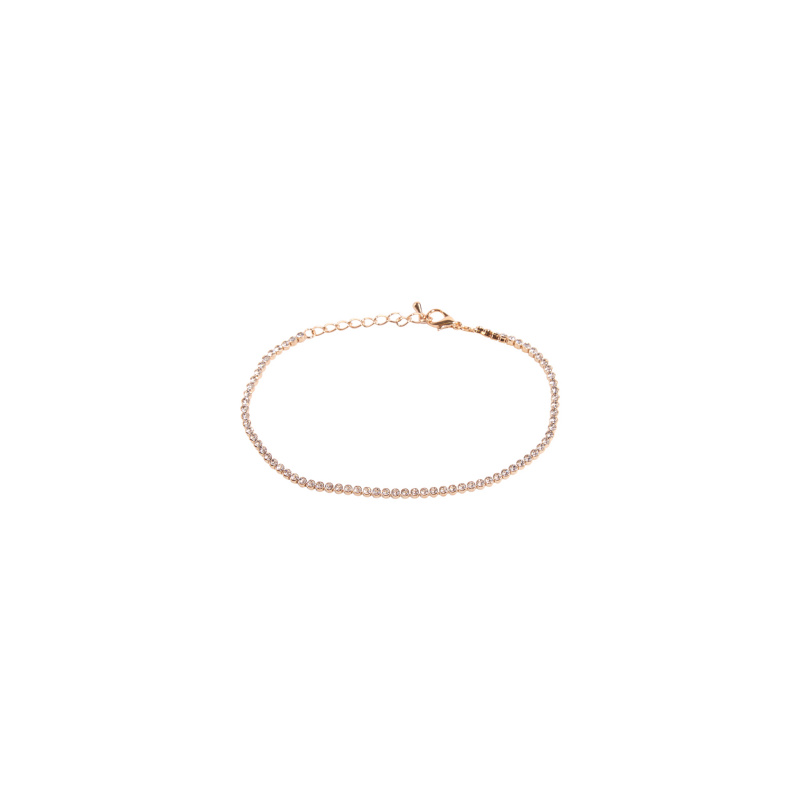 ANKLET WITH CRYSTALS