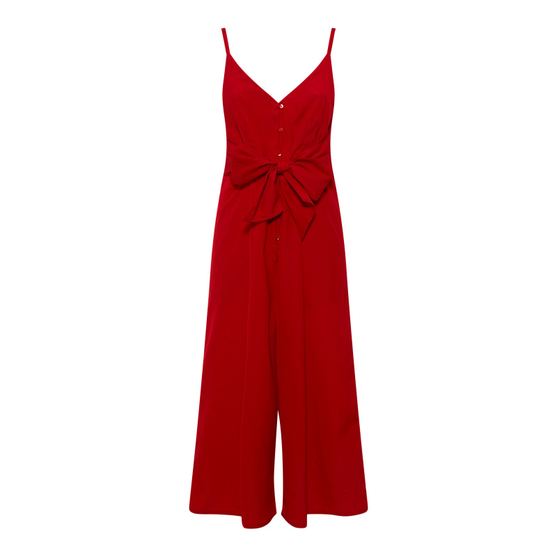 JUMPSUIT WITH BOW