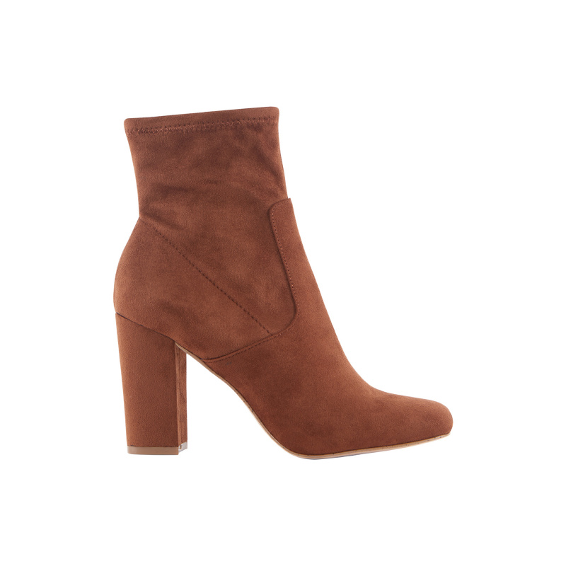 SUEDE TOUCH ANKLE BOOTS