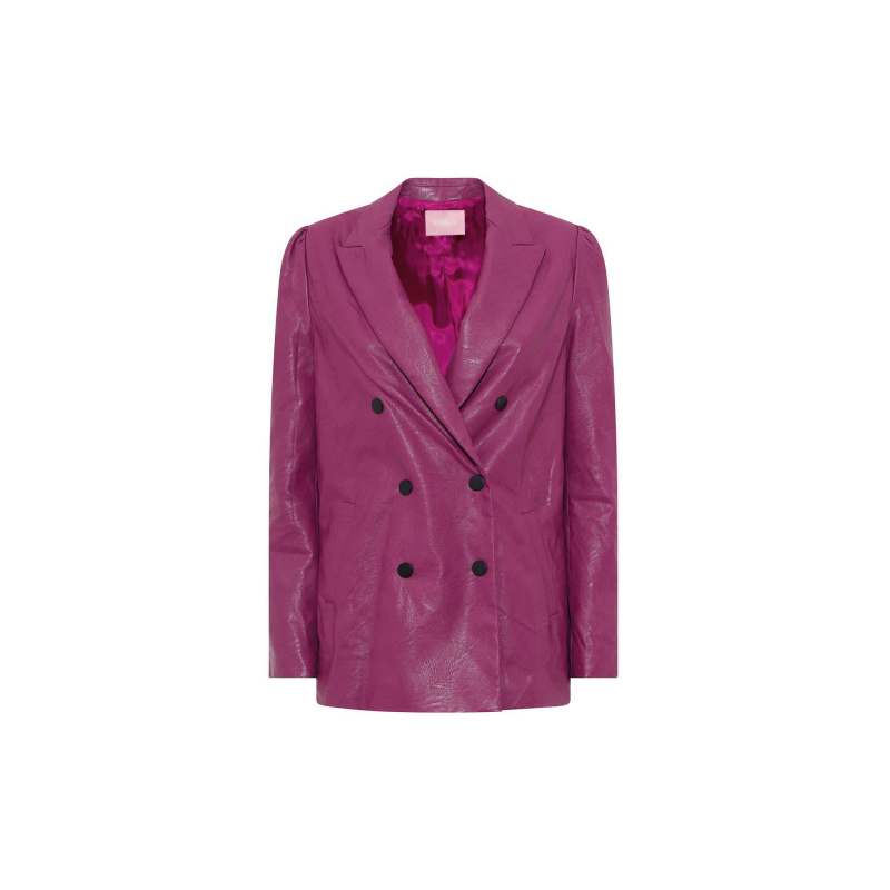 BLAZER IN SIMILPELLE