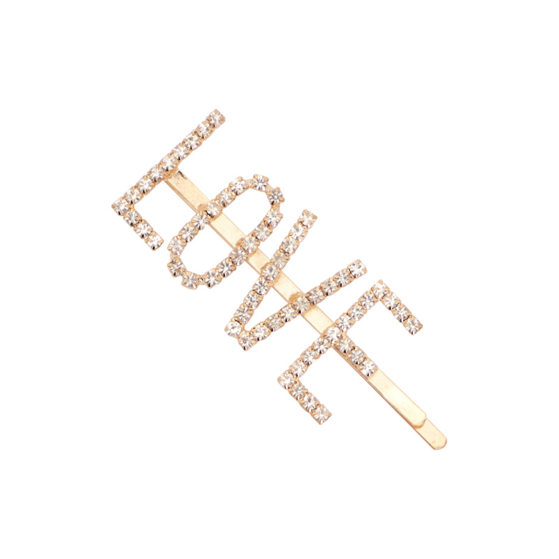 HAIRPIN LOVE LOGO WITH...