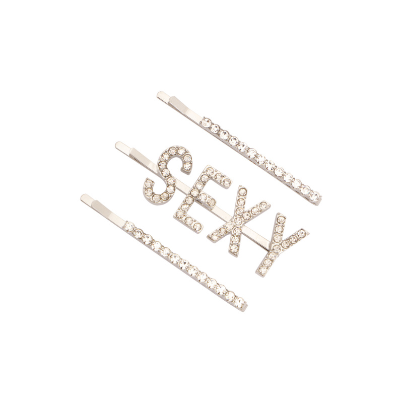 SEXY LOGO HAIRPINS SET