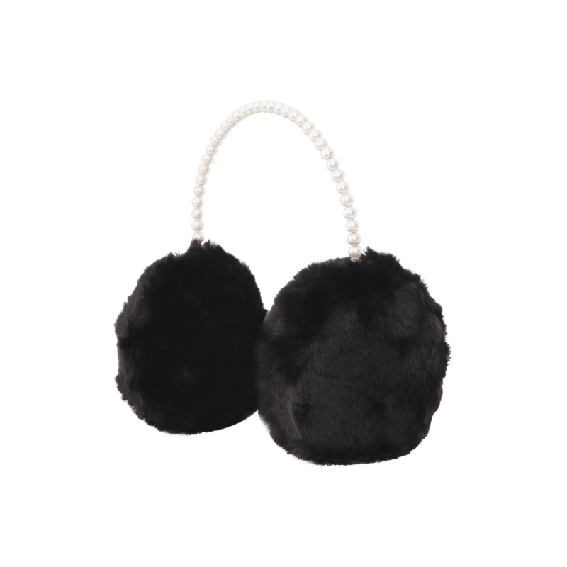 EARMUFFS WITH PEARLS