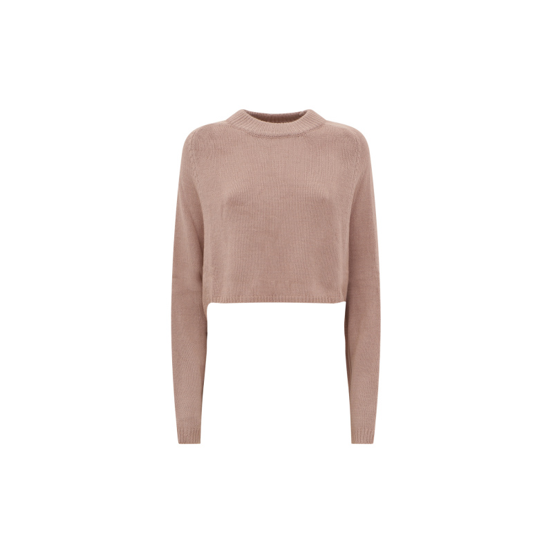 CROP SWEATER WITH WIDE SLEEVES