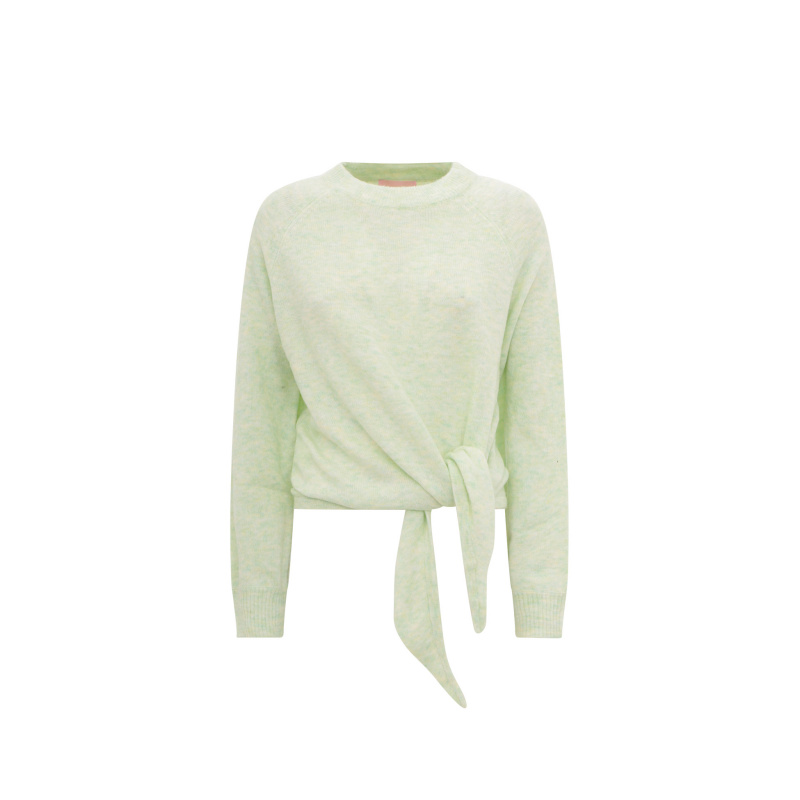 SWEATER WITH KNOT