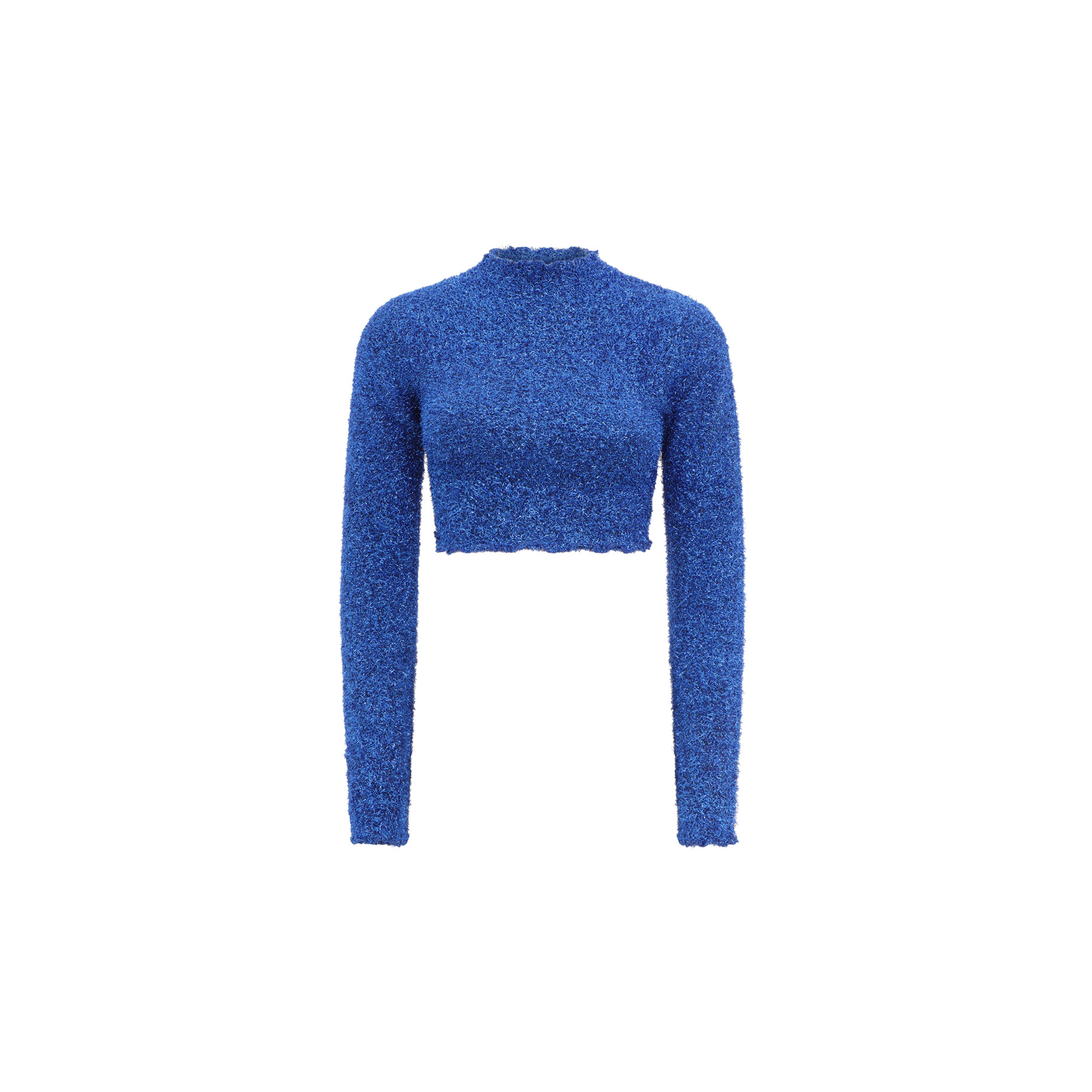 LUREX CROP SWEATER