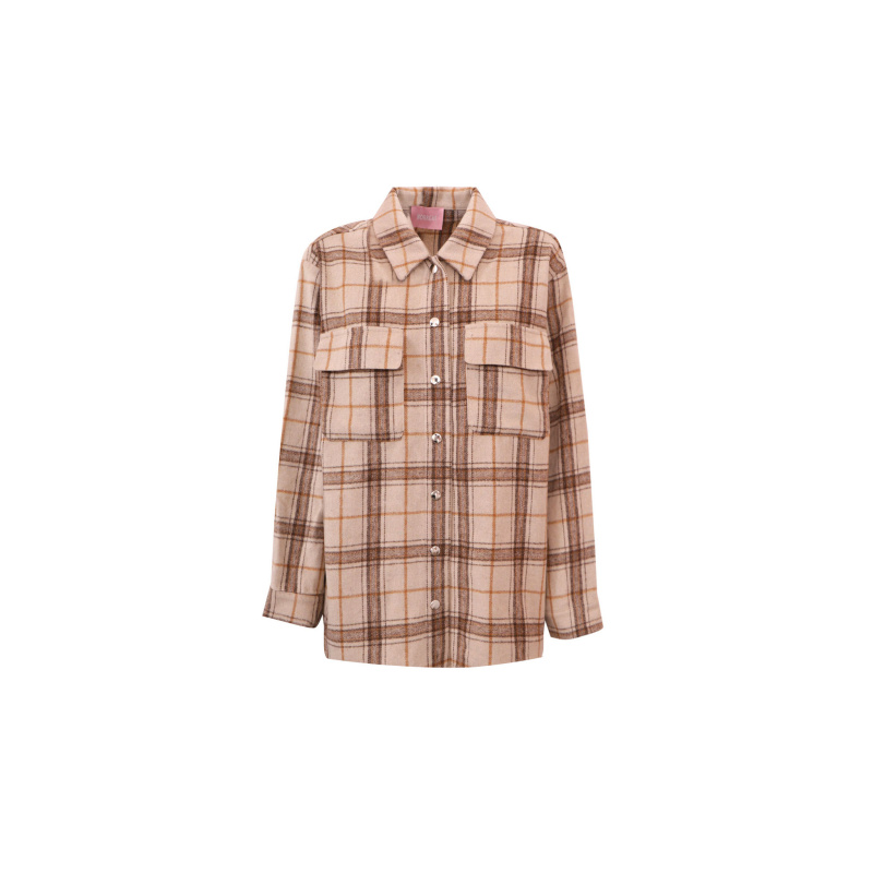 FLENNEL CHECK PRINT SHIRT