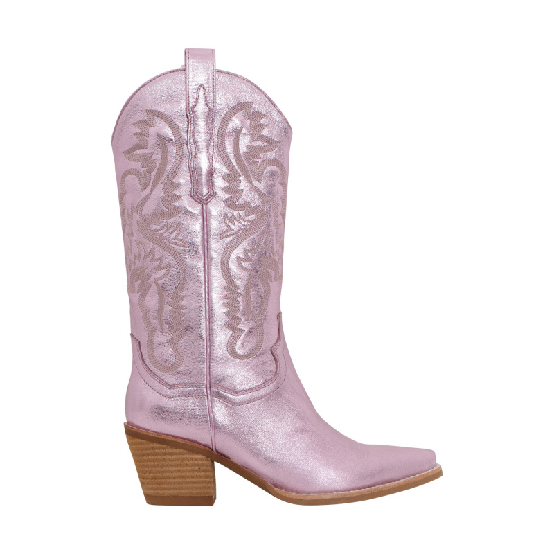 METALLIC TEXAN BOOTS