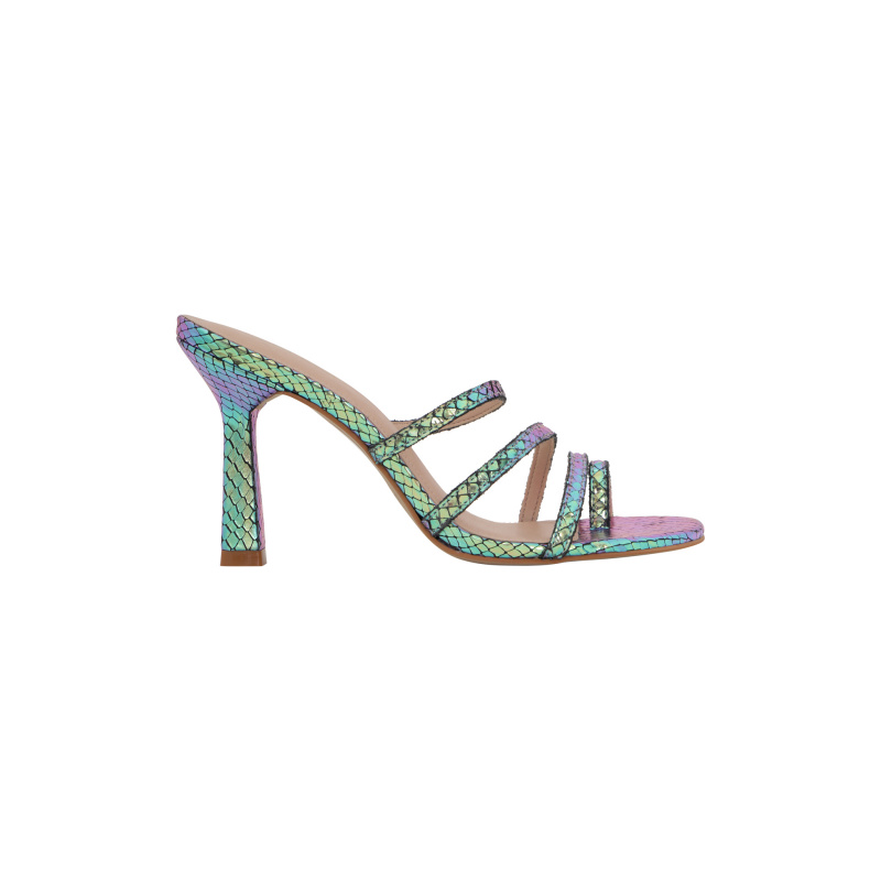 HOLOGRAM METALLIC MULES