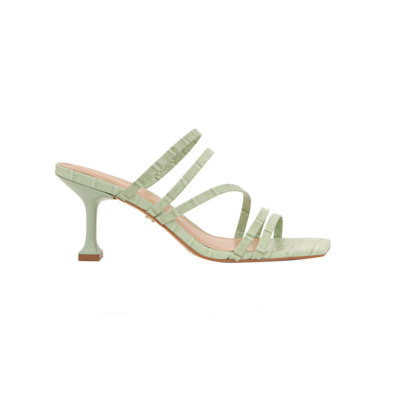 PALE GREEN MULES