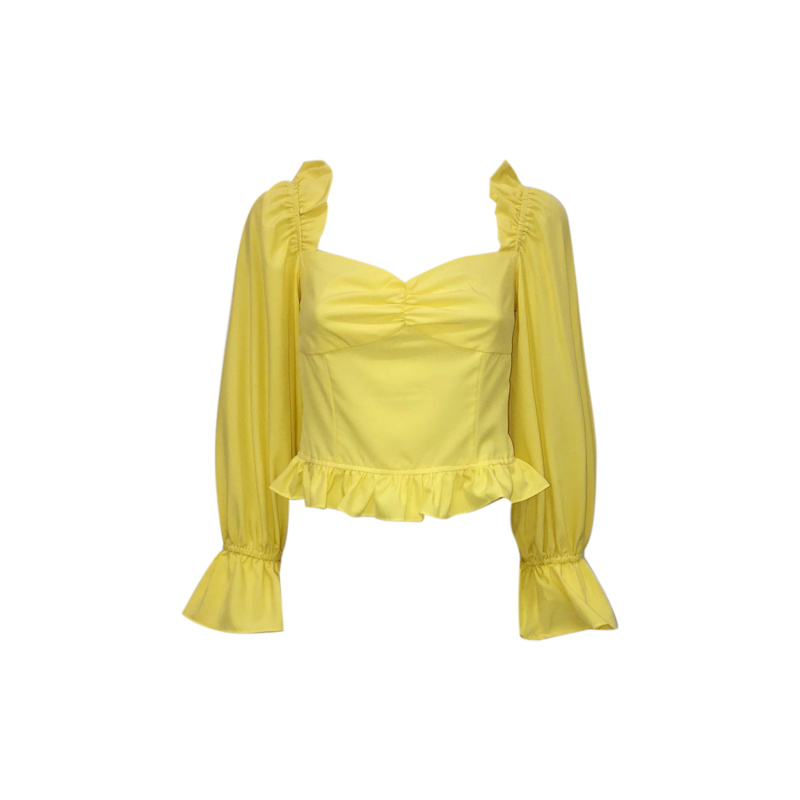TOP WITH RUFFLE