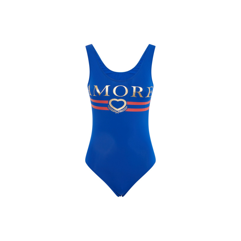 AMORE PRINTED BODY-SWIMSUIT