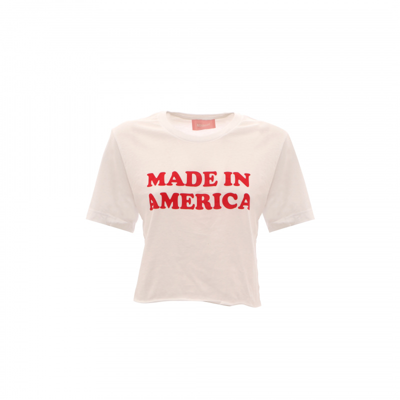T-SHIRT CROP MADE IN AMERICA
