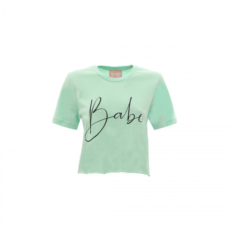 T-SHIRT CROP BABE