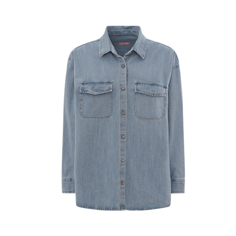 CAMICIA OVER NORRGHI IN DENIM