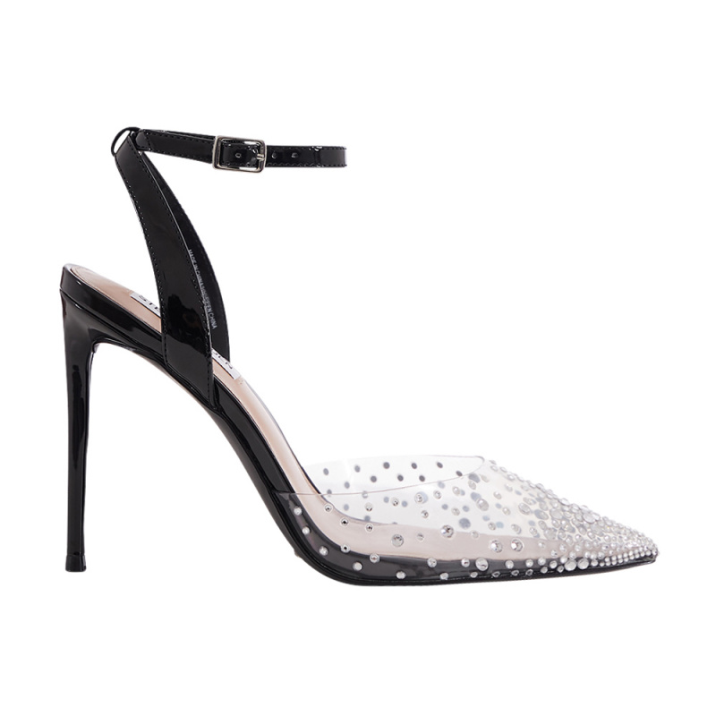 PVC SANDAL WITH CRYSTALS