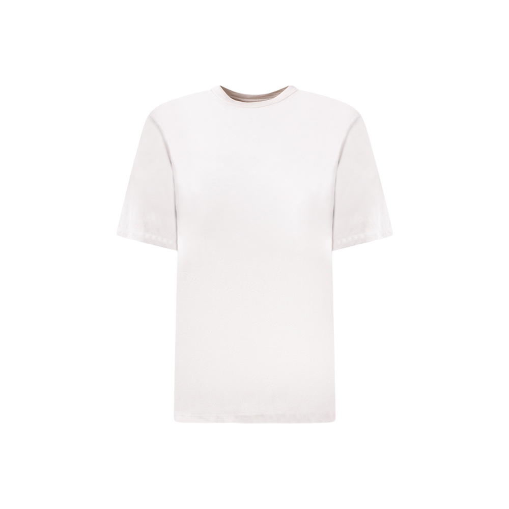 T-SHIRT WITH PADDED SHOULDER
