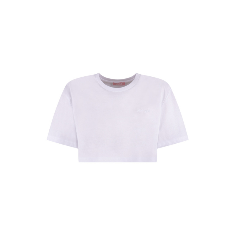 T-SHIRT CROP IN COTONE