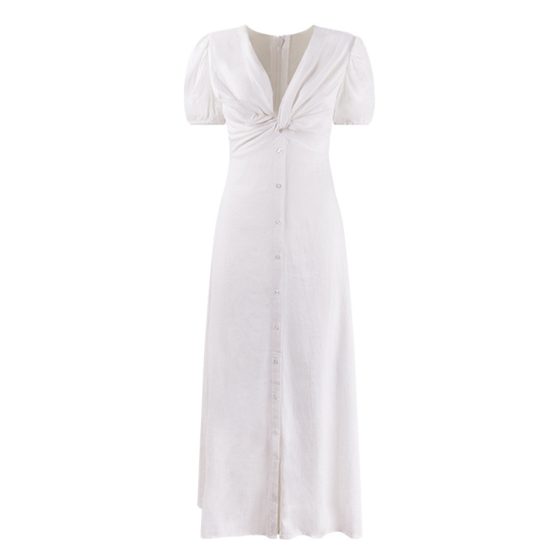 MAXI DRESS WITH KNOT