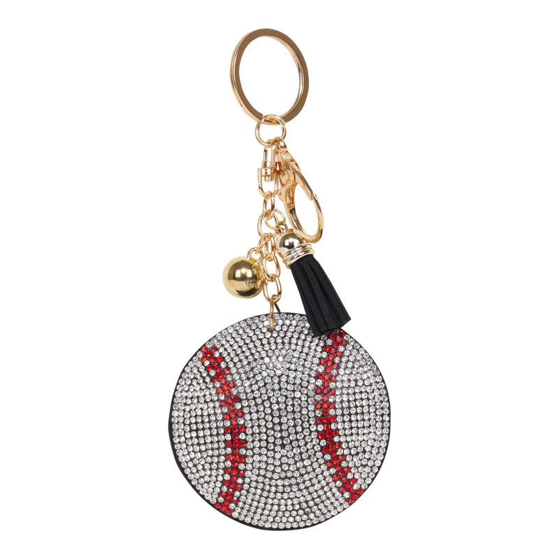 BASEBALL BALL KEYCHAIN