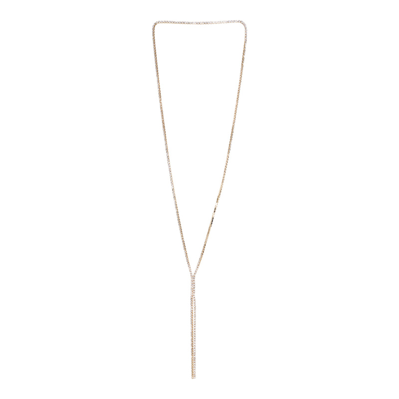 LONG CRYSTALS NECKLACE