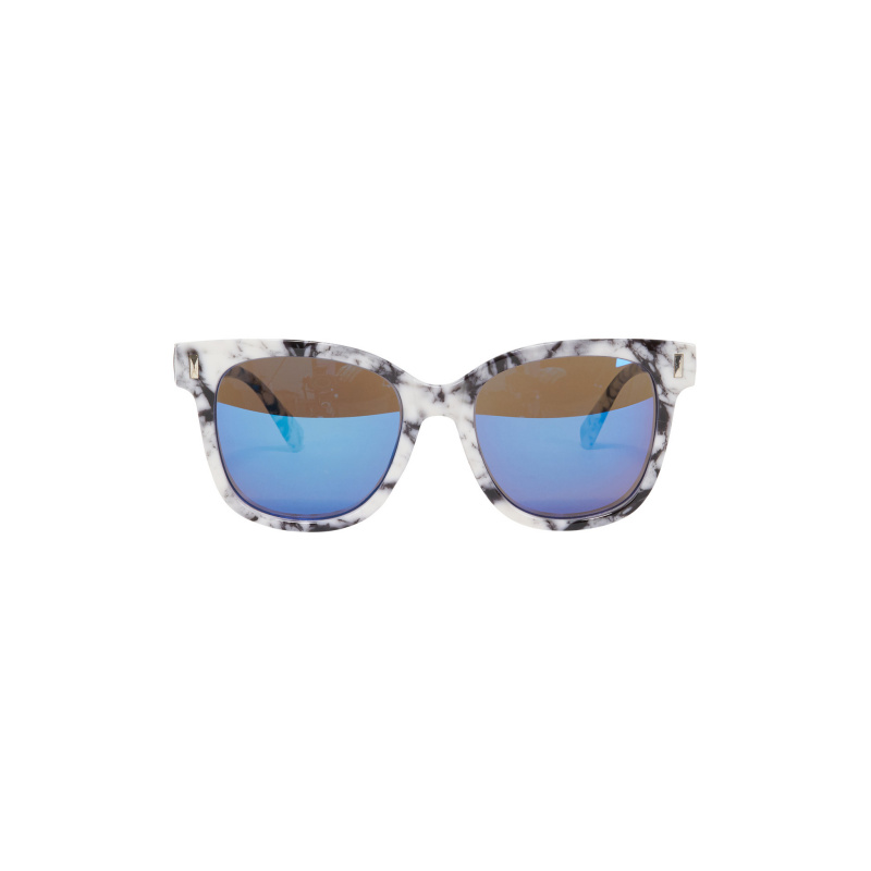 MARMORIZED EFFECT SUNGLASSES