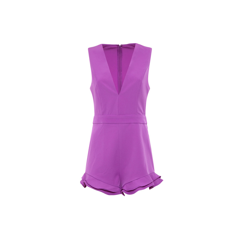 PLAYSUIT WITH RUFFLES