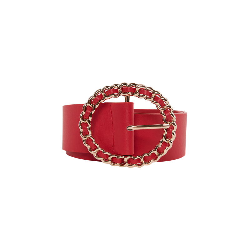 BELT WITH CHAIN BUCKLE